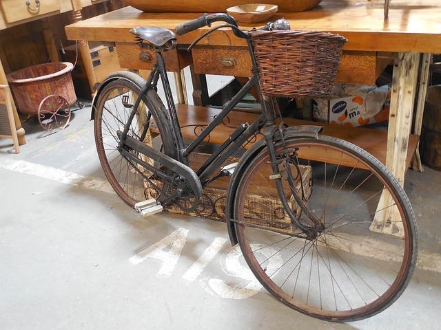 bicykl z minulosti