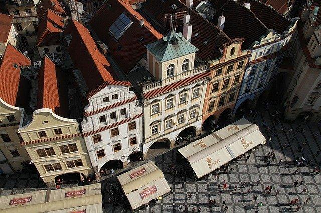 budovy v Praze